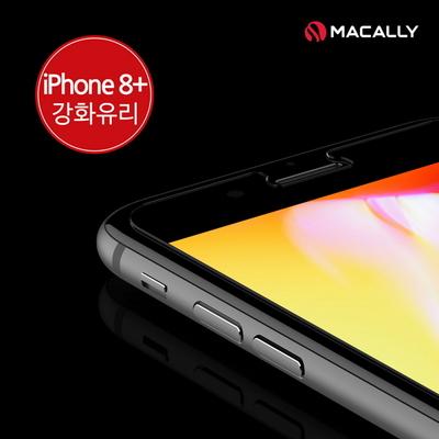 맥컬리 아이폰8플러스 액정보호 강화유리 필름 TEMP8P