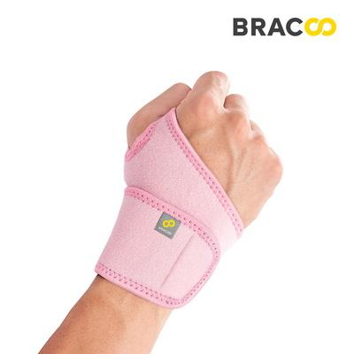 브레이코 WS10 네오프렌 손목보호대 핑크