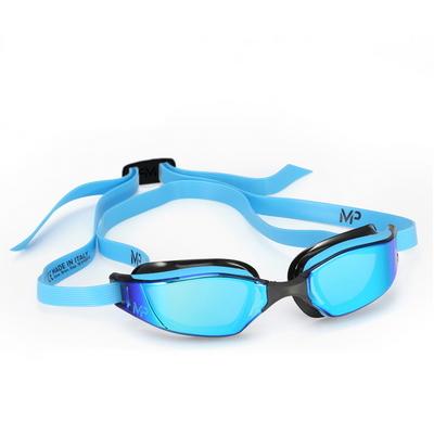 MP 마이클펠프스 엑시드 티타늄 블루 미러 BLUE BLACK
