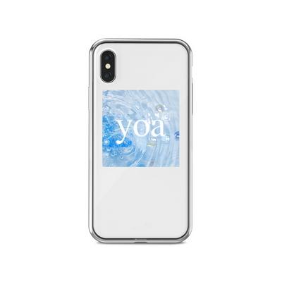 특이한 아이폰 투명 케이스 바다