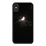 아이폰 X XS XR MAX 6 7 8 plus 케이스 홀로그램 달 블랙