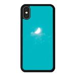 아이폰 X XS XR MAX 6 7 8 plus 케이스 홀로그램 달 민트
