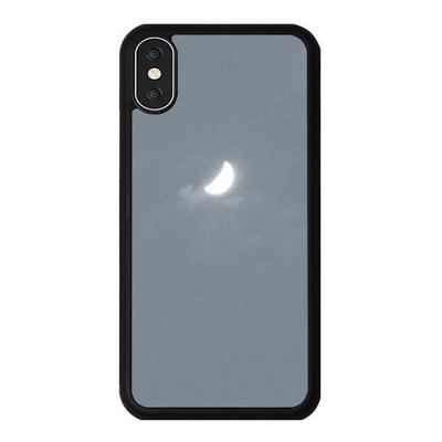 아이폰 X XS XR MAX 6 7 8 plus 케이스 홀로그램 달 그레이
