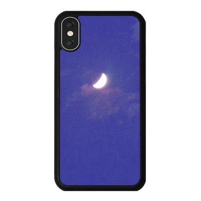 아이폰 X XS XR MAX 6 7 8 plus 케이스 홀로그램 달 바이올렛