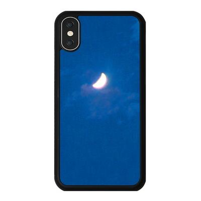 아이폰 X XS XR MAX 6 7 8 plus 케이스 홀로그램 달 블루