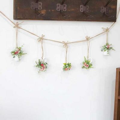 벽 인테리어 꽃 장식 가렌더