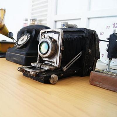 폴딩 카메라 미니어처 장식소품