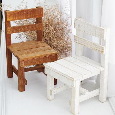 빈티지 미니 의자 감성소품