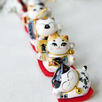 신혼선물 도자기 고양이세트 거실 소품