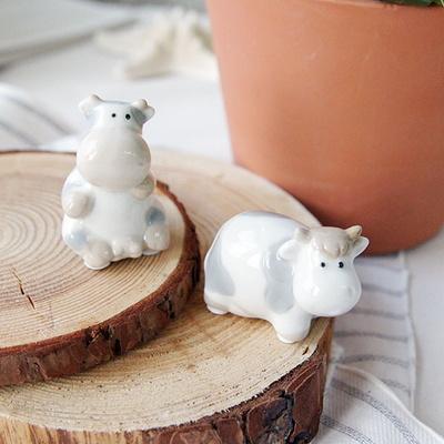 집꾸미기 도자기 젖소세트 디자인 소품