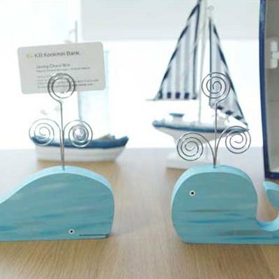 테이블 고래 메모홀더세트 디자인 소품