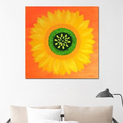 유화 풍수에좋은 인테리어 꽃 그림