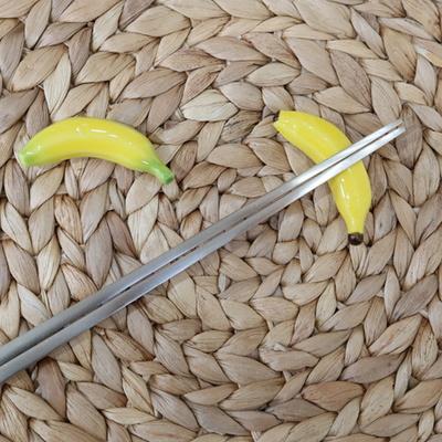 멋진 바나나1P 젓가락받침 카페 소품