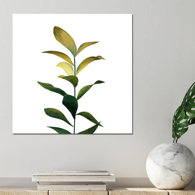 [아트빌리지]북유럽 모던 인테이러 식물 그림액자(40x40cm)