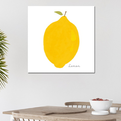 [아트빌리지]거실 모던 인테리어 레몬 그림액자(70x70cm)