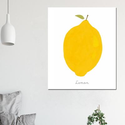 [아트빌리지]거실 모던 인테리어 레몬 그림액자(50x60cm)