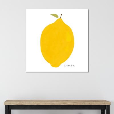 [아트빌리지]거실 모던 인테리어 레몬 그림액자(40x40cm)