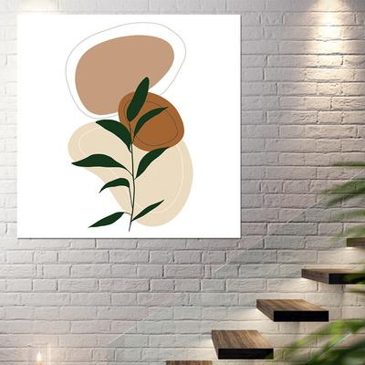 [아트빌리지]주방 인테리어 나뭇잎 그림 액자(40x40cm)