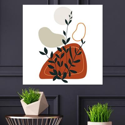 [아트빌리지]주방 인테리어 식물 그림 액자(70x70cm)