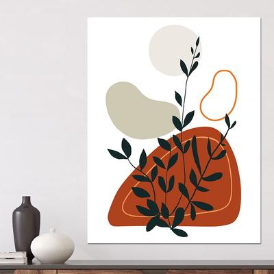 [아트빌리지]주방 인테리어 식물 그림 액자(40x40cm)