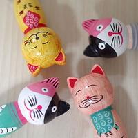 귀여운 고양이 자석 오프너 4종 디자인 소품