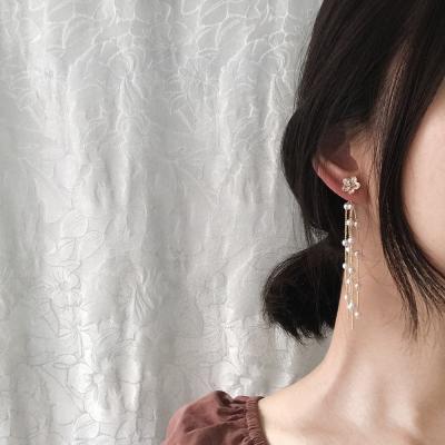 꽃송이 러블리 드롭 귀걸이