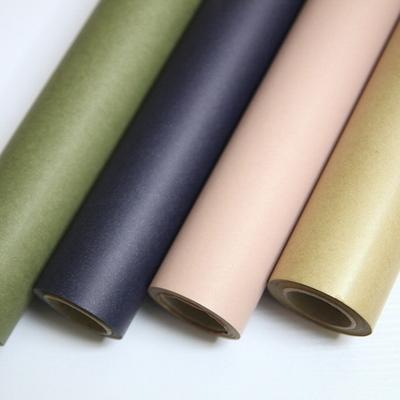 큐티데코 - 대용량 크라프트 포장지 10색 선물포장지