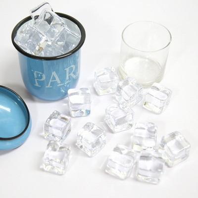 투명 각얼음 모형