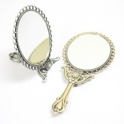 탁상거울 손거울 겸용 경첩 양면거울