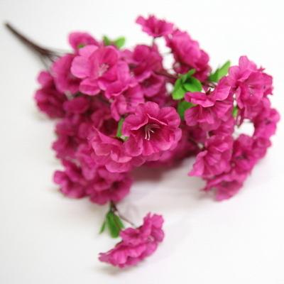 봄소품 봄꽃 진달래꽃 조화부쉬