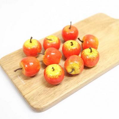 과일모형 미니 사과 모형 10p
