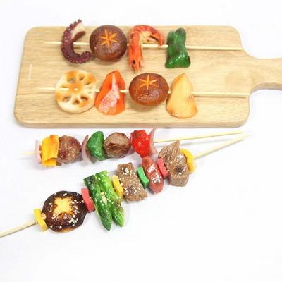 음식모형 바베큐 꼬지 모형