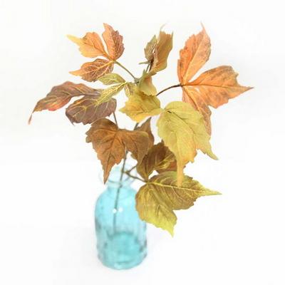 가을소품 가을 단풍가지 조화
