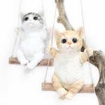 마블 그네타는 고양이인형