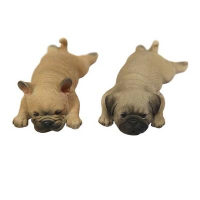 마블 엎드린 강아지 인형