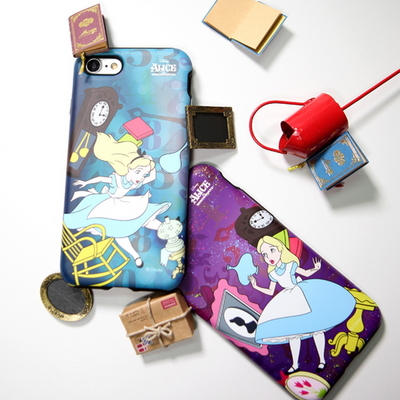 앨리스 시간여행 어메이징 범퍼 케이스 디즈니 정품