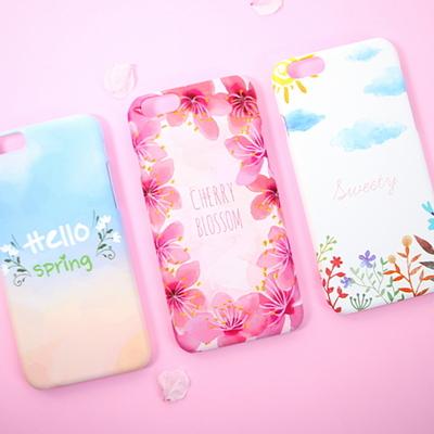 Cherry Blossom 체리블라썸 스마트폰 디자인 케이스