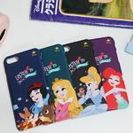 디즈니 프린세스 아모르 유광 하드 케이스 디즈니 정품