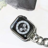 애플 워치 메탈릭 젤리 풀커버 케이스 40mm