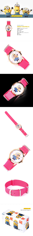 M0016S-RG-4 (미니언즈시계)40,000원-미니언즈주얼리/시계, 시계, 여성시계, 캐릭터시계바보사랑M0016S-RG-4 (미니언즈시계)40,000원-미니언즈주얼리/시계, 시계, 여성시계, 캐릭터시계바보사랑