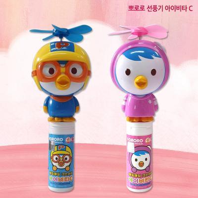 뽀로로 패티 선풍기 아이비타C 15정 / 비타캔디