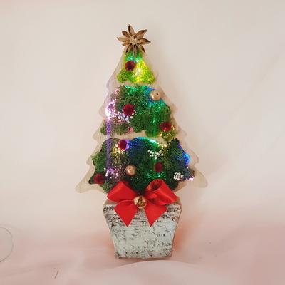 스칸디아모스 원목트리(2종)-크리스마스 선물