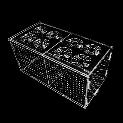 특대 아크릴 격리박스 30cm [큐방형]