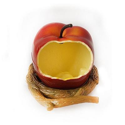 베니스 사과 피딩컵 (BA-4500) - 새모이그릇 새용품