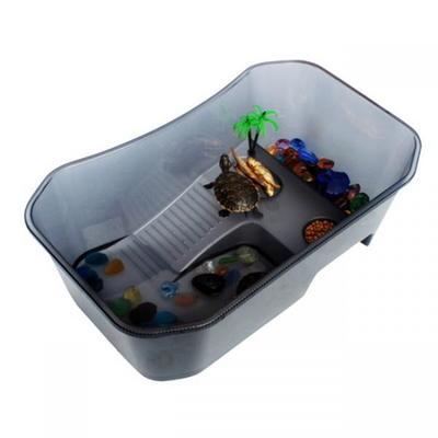 노모펫 개방식 거북이 어항(대) 블랙  NX-11