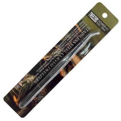 노모펫 파충류 스테인레스 핀셋 30cm(곡선)