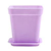 미미네가든 플라스틱화분 7cm (받침포함) - 색상랜덤