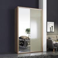 쥬리아 1200 CD 양문 슬라이딩 드레스룸(거울+그레이)