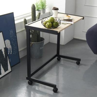 센트럴 레드파인 스틸 테이블 800 블랙