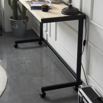 센트럴 레드파인 스틸 테이블 1200 블랙